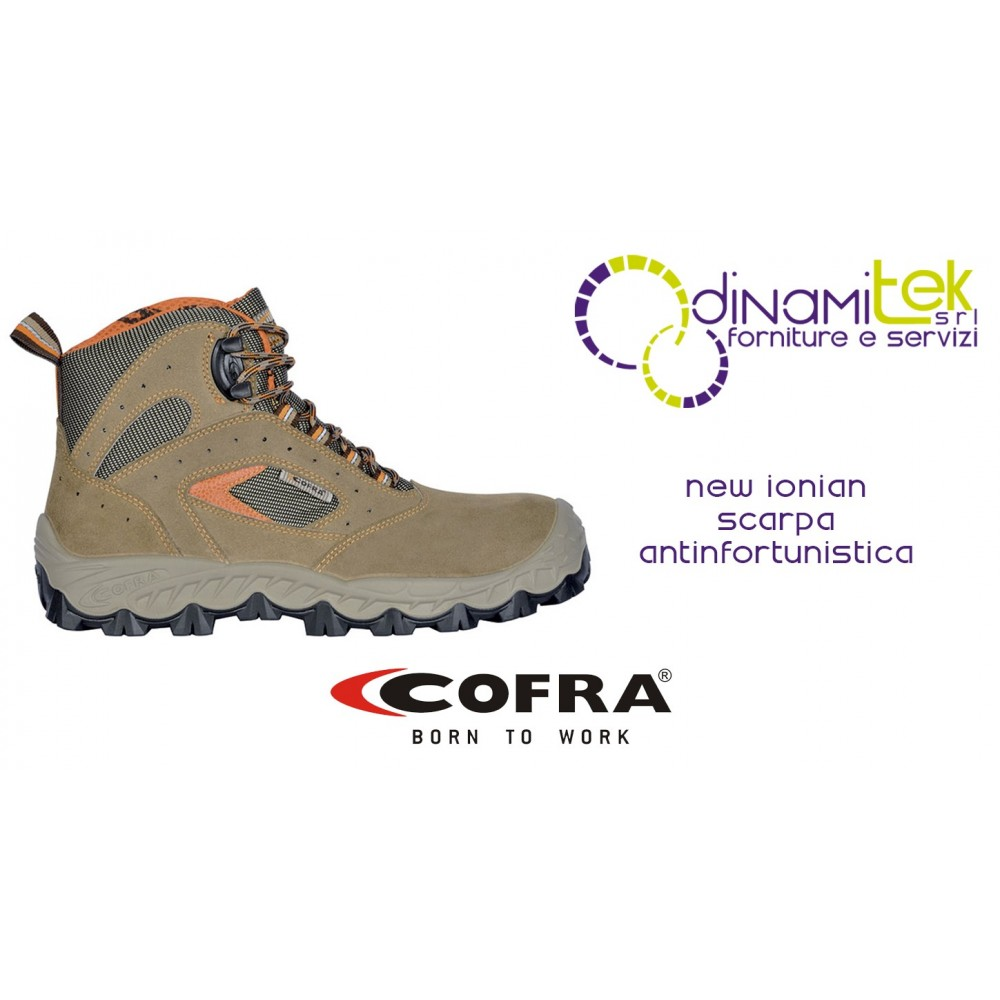 NEW IONIAN S1-P SRC SAFETY SHOE COFRA TO WORK SAFELY EVEN ON CONSTRUCTION SITES Dinamitek 1
