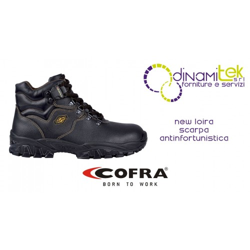 PERFECT SAFETY SHOE FOR ALL WORKERS NEW LOIRA S3 SRC COFRA Dinamitek 1