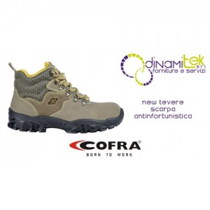 SAFETY SHOE NEW TEVERE S1-P SRC COFRA PERFECT FOR THE SAFETY OF ALL WORKERS Dinamitek 1
