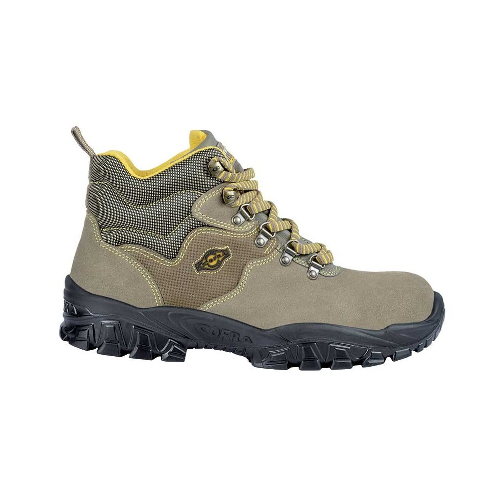 SAFETY SHOE NEW TEVERE S1-P SRC COFRA PERFECT FOR THE SAFETY OF ALL WORKERS Dinamitek 2