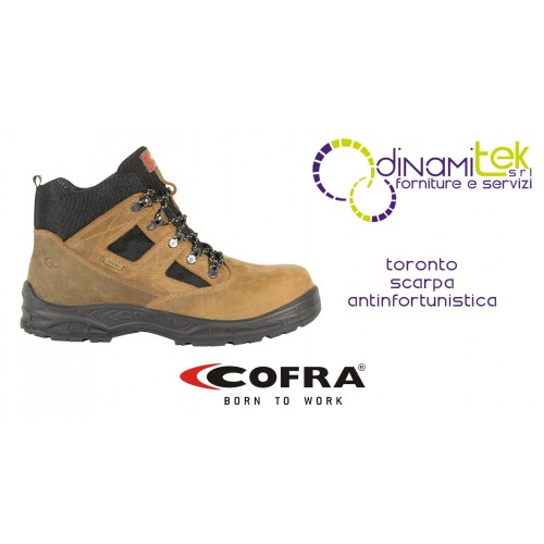 SAFETY SHOE NEW TORONTO S3 WR SRC COFRA PERFECT FOR PROTECTING THE FOOT IN HUMID ENVIRONMENTS Dinamitek 1