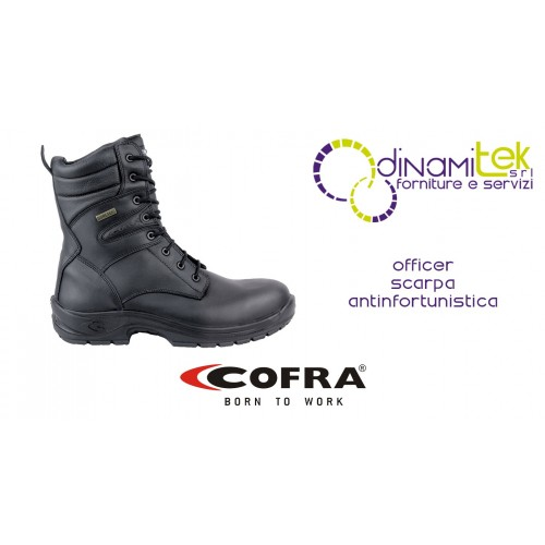 SAFETY BOOT SUITABLE FOR WET AND OUTDOOR ENVIRONMENTS OFFICER O2 WR HRO SRC FO COFRA Dinamitek 1