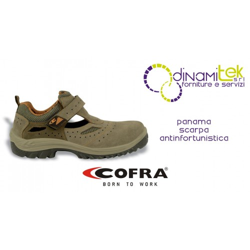 SAFETY SANDALSPERFECT FOR WORKING DURING THE SUMMER MONTHS PANAMA COFRA Dinamitek 1
