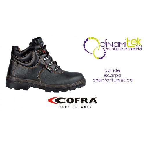 SAFETY SHOE OFFERS MAXIMUM PROTECTION EVEN IN AGRICULTURE AND CONSTRUCTION PARIDE BIS S3 SRC COFRA Dinamitek 1