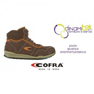 SAFETY BOOT FOR CONSTRUCTION AND CRAFTS PIOLA S3 SRC COFRA Dinamitek 1