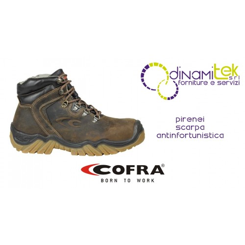 SAFETY SHOE PYRENEES S3 HRO WR SRC COFRA RESISTANT EVEN WITH HEAVY USE Dinamitek 1