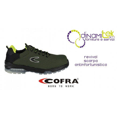 SAFETY SHOE FOR WORKERS IN INDUSTRY AND CRAFTS REVIVAL S3 SRC COFRA Dinamitek 1