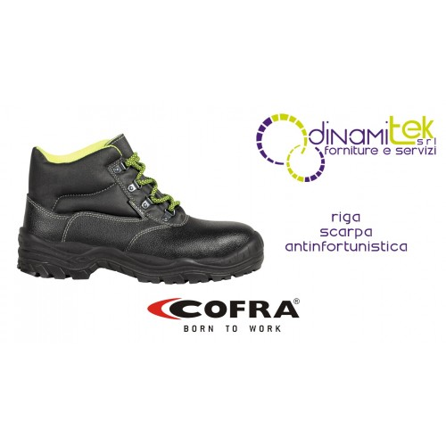 SAFETY SHOE PERFECT TO FACE THE CONSTRUCTION SITE IN SAFETY RIGA S3 SRC COFRA Dinamitek 1