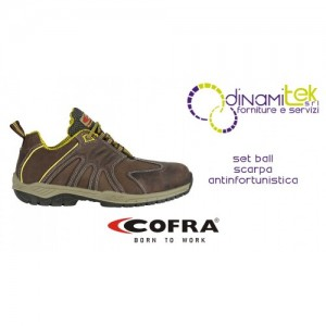 SAFETY SHOE FOR CONSTRUCTION INDUSTRY AND CRAFTS SET BALL S3 SRC COFRA Dinamitek 1