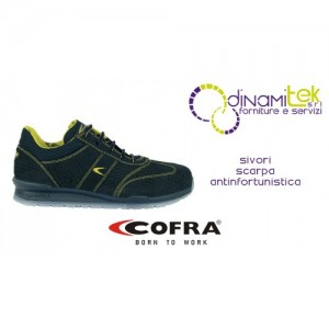 SIVORI SAFETY SHOE S1-P SRC COFRA PERFECT FOR INDUSTRY AND CRAFTS Dinamitek 1