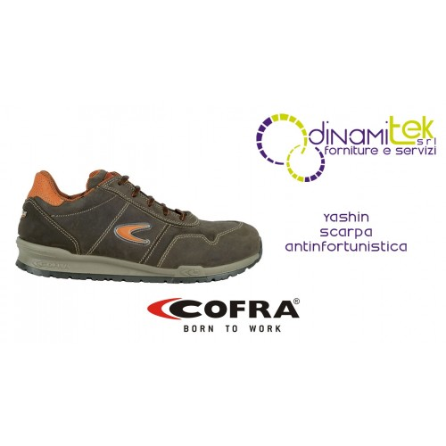 SAFETY SHOE FOR CONSTRUCTION INDUSTRY AND CRAFTS YASHIN S3 SRC COFRA Dinamitek 1