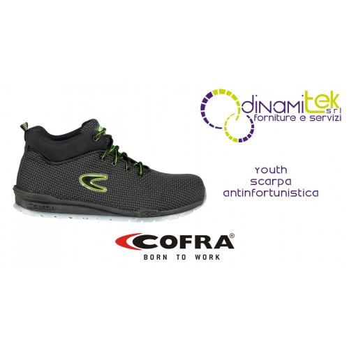 SAFETY SHOE SUITABLE FOR OUTDOORS AND FOR ALL JOBS YOUTH S3 SRC COFRA Dinamitek 1