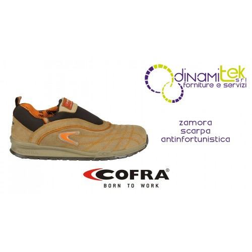 SAFETY SHOE ZAMORA S1-P SRC COFRA SUITABLE FOR INTERIORS ALSO SUITABLE IN THE INDUSTRIAL FIELD Dinamitek 1