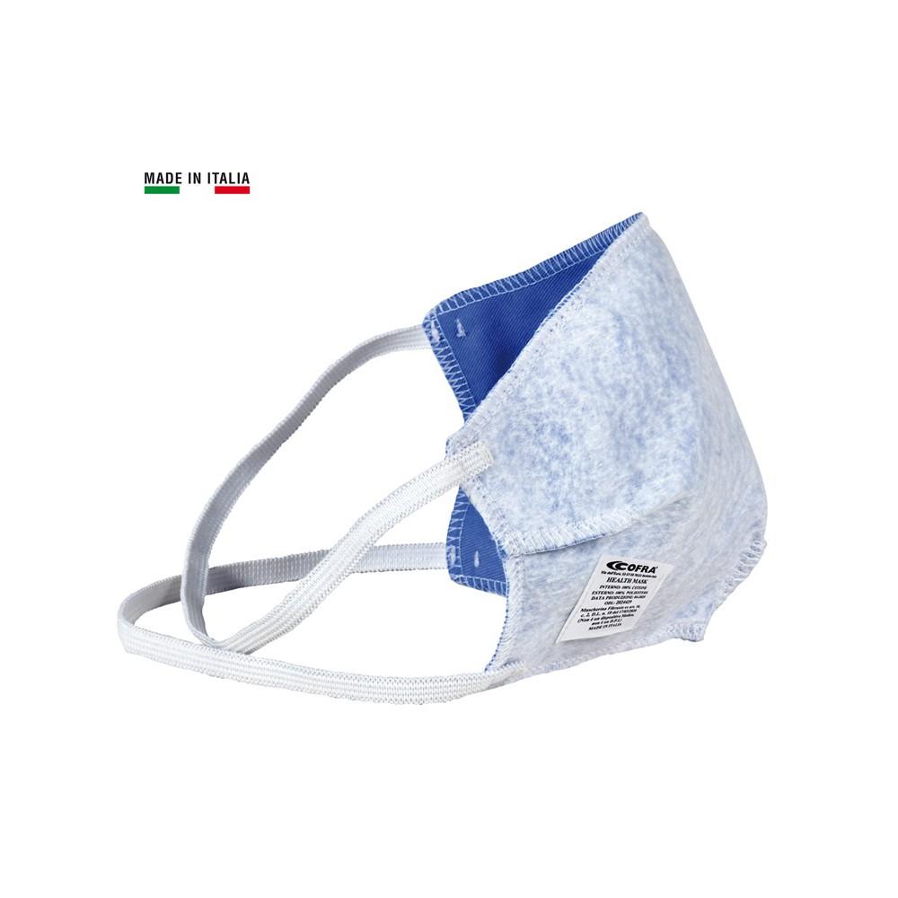 COFRA HEALTH MASK MASCHERA SEMI-FACCIALE RIUTILIZZABILE MADE IN ITALY Dinamitek 2