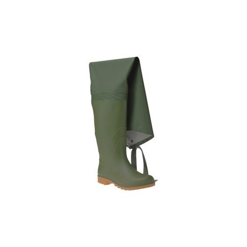 0STIVALI THE WHOLE THIGH PVC - GREEN 6350 ITALBOOT Dinamitek 2