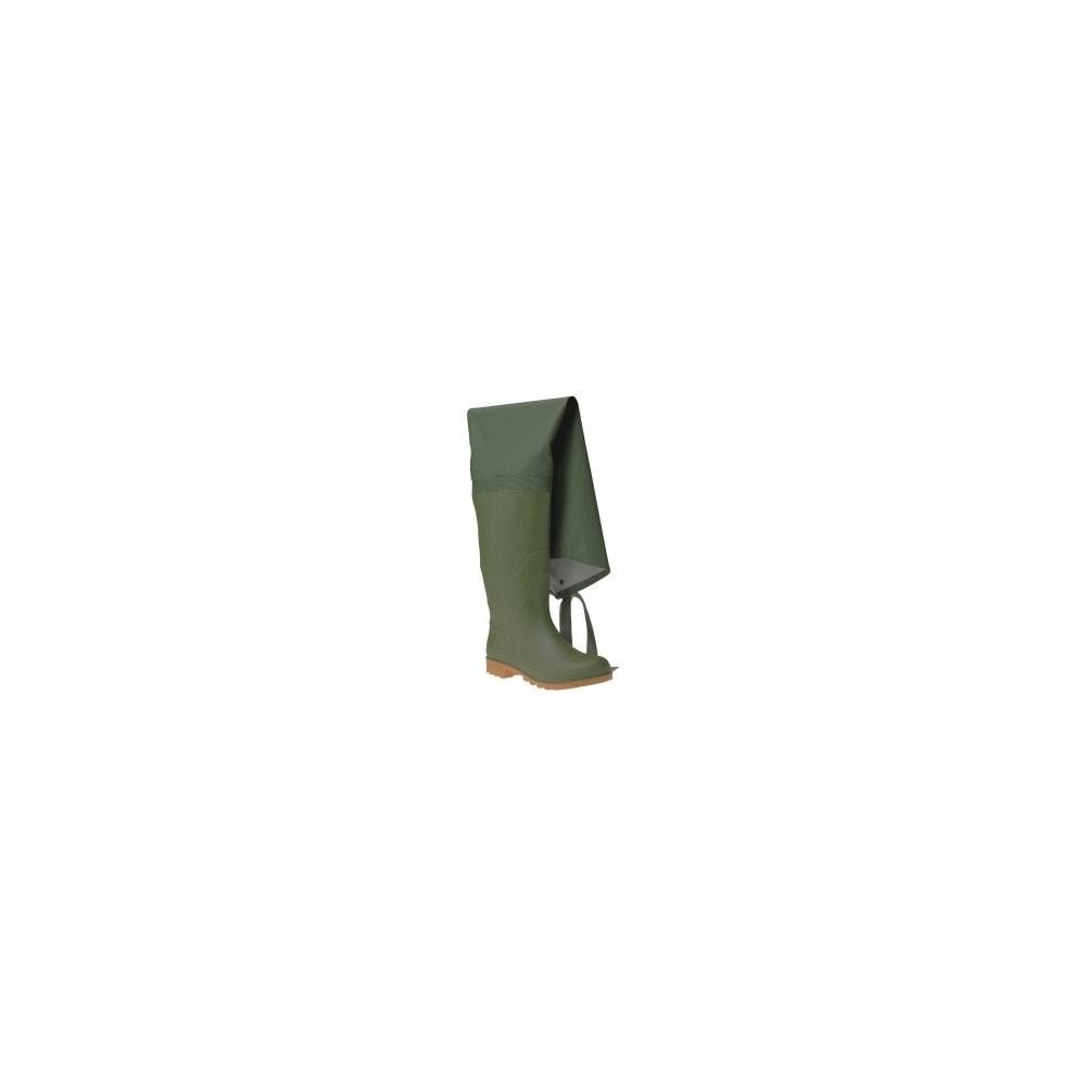 06350 STIVALI TUTTA COSCIA PVC - VERDE ITALBOOT Dinamitek 2