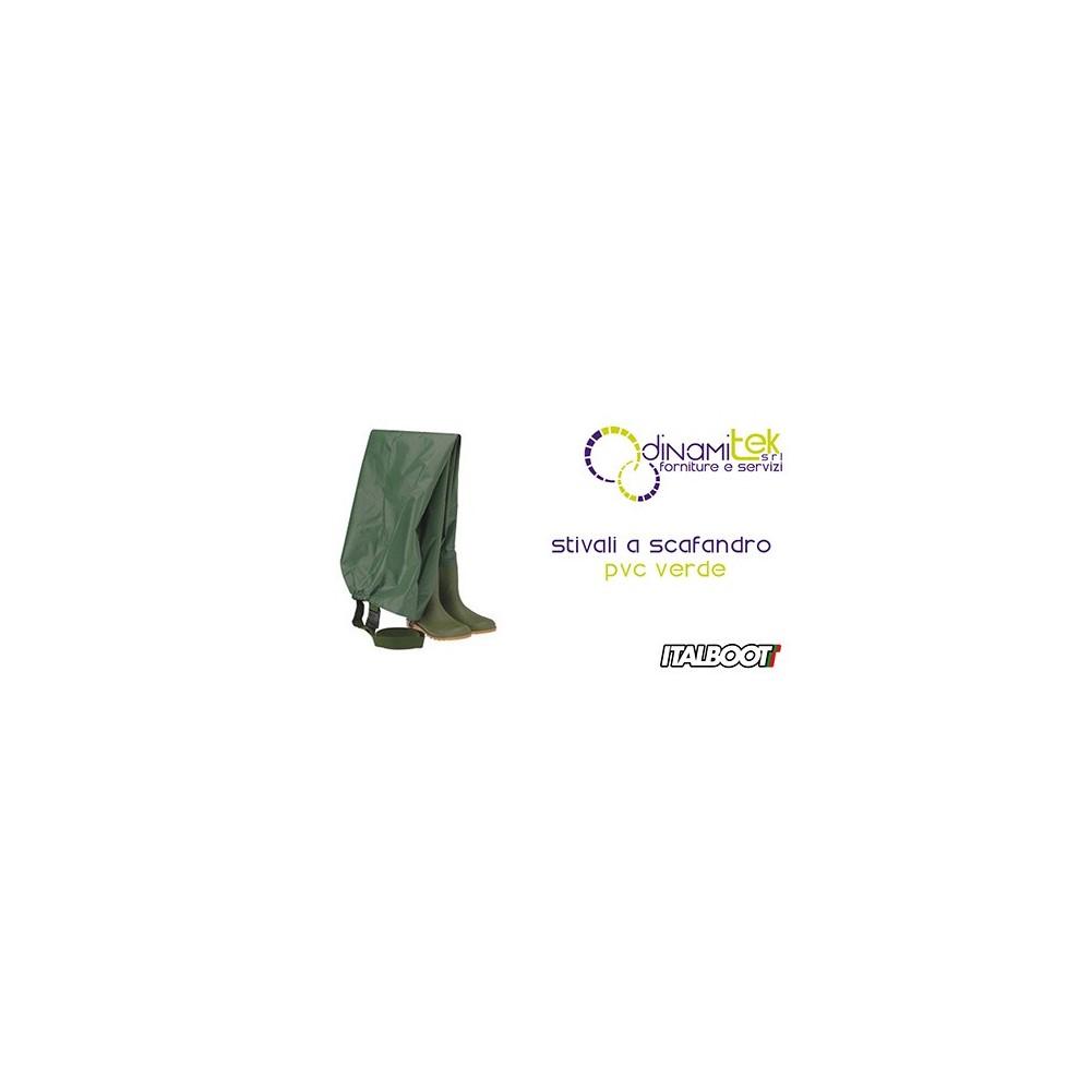 0STIVALI A DIVING SUIT PVC - GREEN 6360 ITALBOOT Dinamitek 1