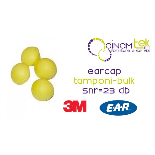 EARCAP-INSERTS-REPLACEMENT EARCAPS AND EARBAND-CF 50 PAIRS 3M Dinamitek 1