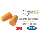 1100-EAR PLUGS, DISPOSABLE-CF 200 PAIRS 3M Dinamitek 1