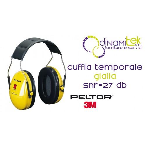 OPTIME I-CUFFIE AURICOLARI TEMPORALE H510A-401-GU 3M Dinamitek 1