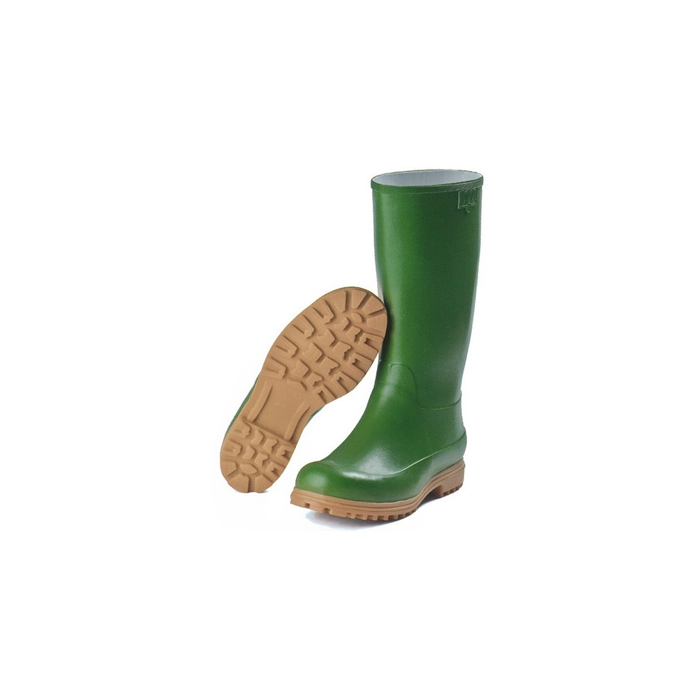 KNEE-HIGH BOOTS MARTINELLO NATURAL RUBBER, GREEN, TANK Dinamitek 2