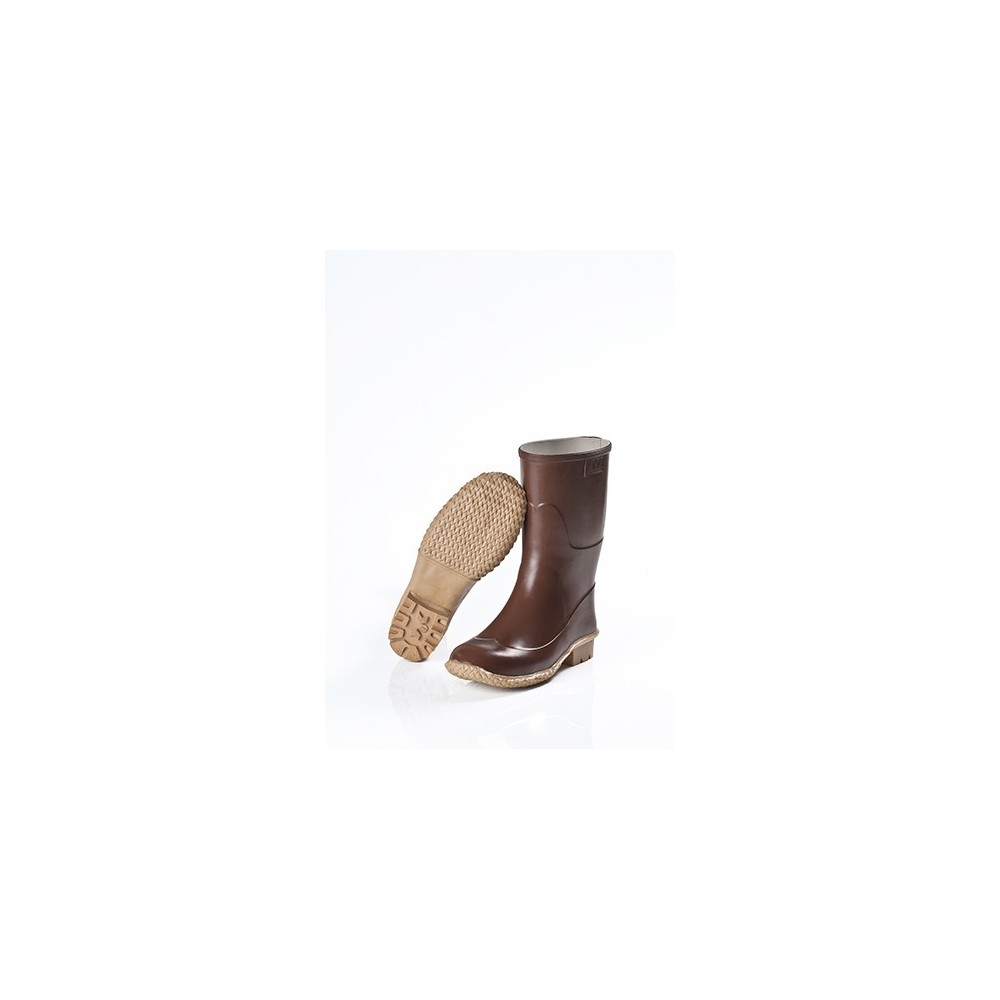 SOCKET MARTINELLO WOMAN WITH NATURAL RUBBER, BROWN, CALENDERED Dinamitek 2