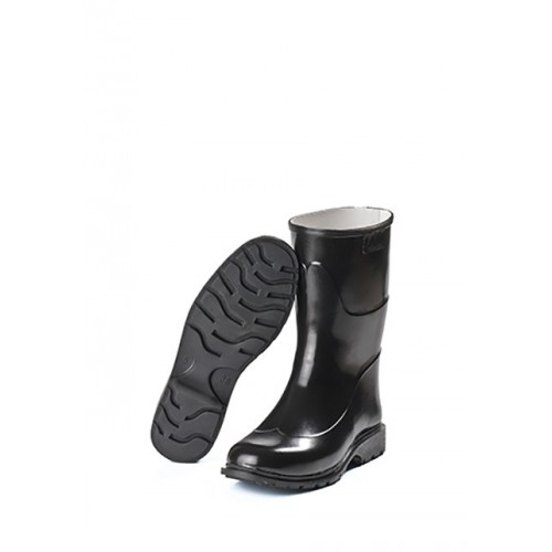TRONCHETTO WOMAN BLACK MARTINELLO WITH TANK, WITH NATURAL RUBBER Dinamitek 2