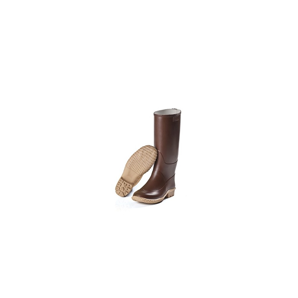 HIGH BOOTS IN NATURAL RUBBER FOR WOMAN, BROWN, MARTINELLO Dinamitek 2