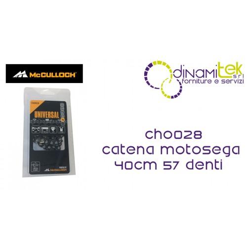 CHO028 DE LA CADENA PARA MOTOSIERRA 40CM 57 DIENTES MCCULLOCH Dinamitek 1