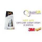 LIGHT WAX CERA-CERA PER AUTO PER COLORI CHIARI E BIANCO 198 GR 3M Dinamitek 1