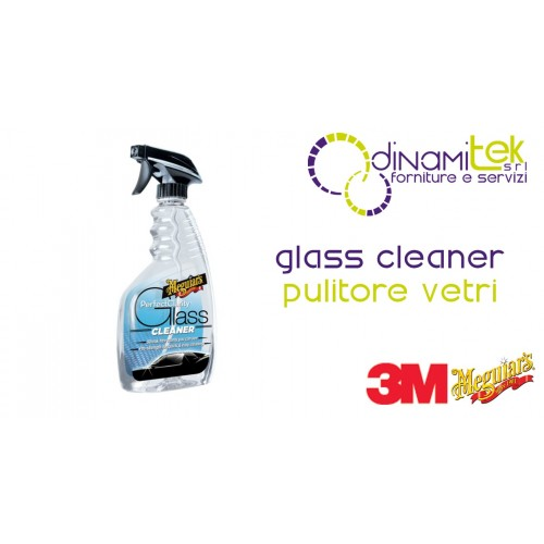 GLASS CLEANER-PULITORE VETRI PER AUTO 473 ML 3M Dinamitek 1