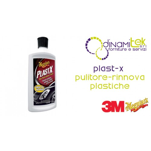 PLAST-X CLEANER AND RENEWS PLASTICS FOR CAR 296 ML 3M Dinamitek 1