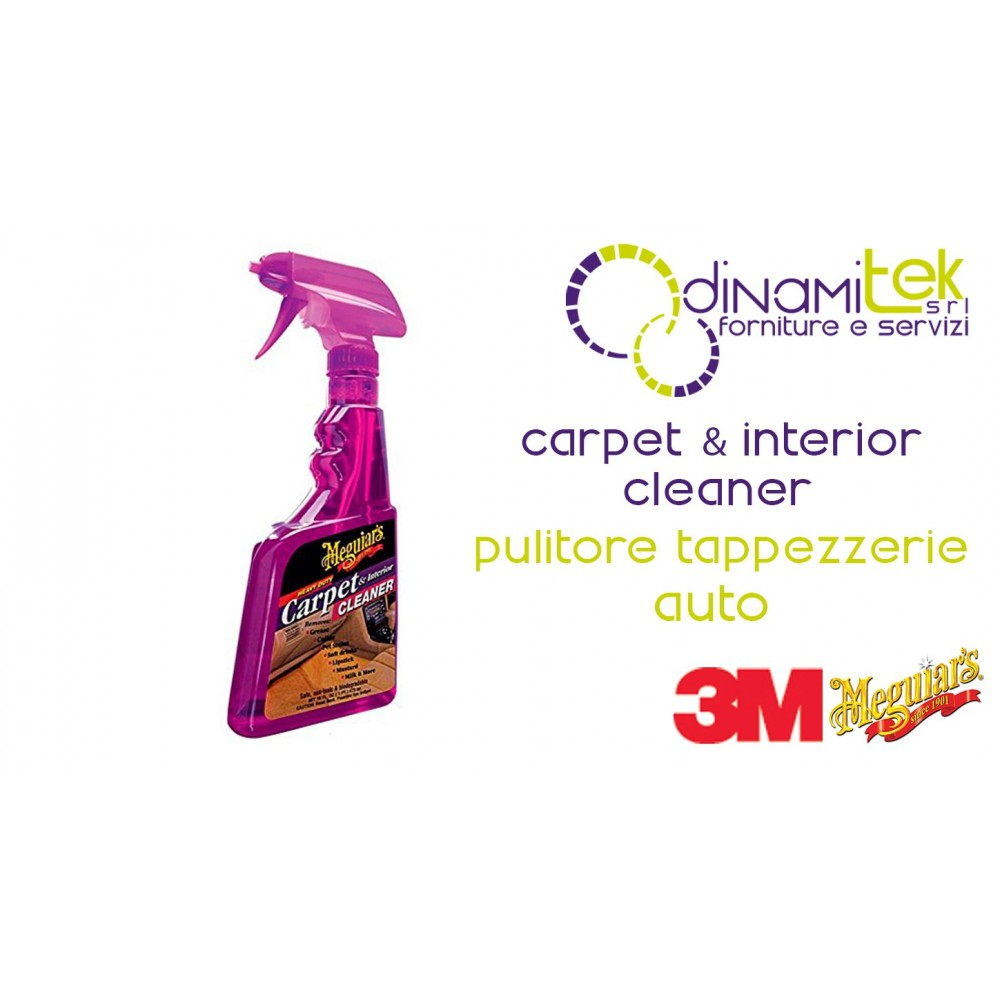 CARPET INTERIOR CLEANER-CLEANER FOR UPHOLSTERY AUTO 473 ML 3M Dinamitek 1