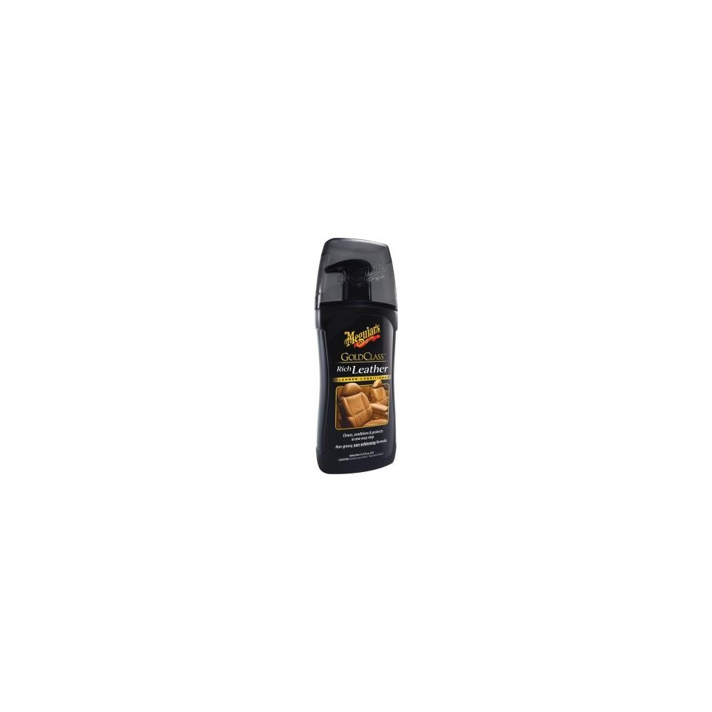 GOLD CLASS RICH LEATHER GEL CLEANER RENEWS THE SKIN TO DRIVE 400 ML 3M Dinamitek 2