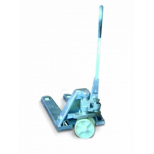 NC-685-Z PALLET TRUCK, MANUAL WIDE, ZINC PLATED CAPACITY 2500 KG NOVAMACH Dinamitek 3