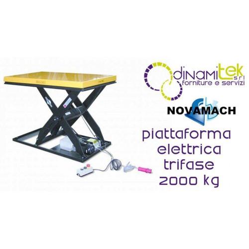 NPF200EH PLATFORM ELECTRO-HYDRAULIC THREE-PHASE FLOW RATE 2000KG NOVAMACH Dinamitek 1