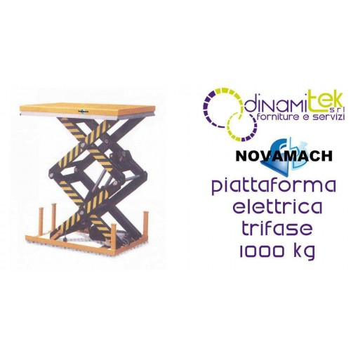 NPFD100E PLATAFORMA ELECTRO-HIDRáULICO DE LAS TRES DE LA FASE DE CAPACIDAD DE CARGA 1000 KG NOVAMACH Dinamitek 1