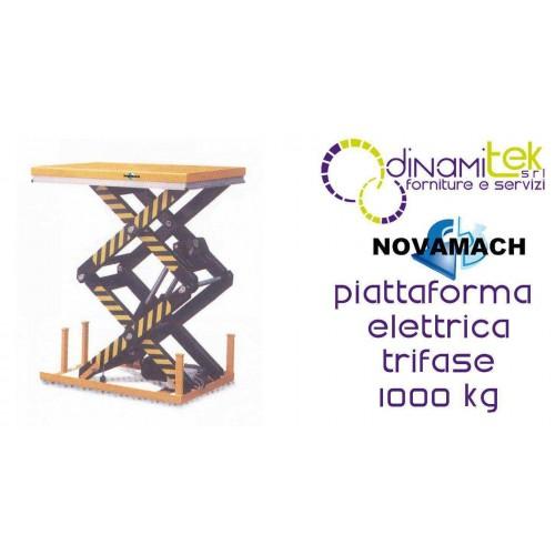 NPFD100E PLATFORM ELECTRO-HYDRAULIC THREE-PHASE CAPACITY 1000KG NOVAMACH Dinamitek 1