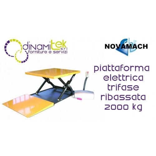 NPF200ED PLATAFORMA ELECTRO-HIDRáULICO DE LAS TRES DE LA FASE DE PERFIL BAJO 2T NOVAMACH Dinamitek 1