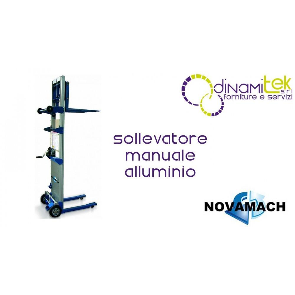 N1-SPC SOLLEVATORE A TRAZIONE MANUALE H MAX 1250 MM NOVAMACH Dinamitek 1
