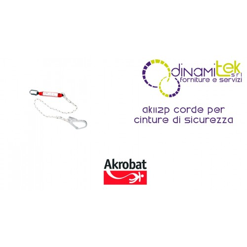 CORDS FOR SAFETY BELTS AK112P AKROBAT Dinamitek 1