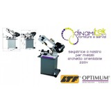 OPT057OP0131 - BAND SAWING MACHINE MODEL S 131GH FOR THE MACHINING OF METALS WITH A HEADBAND SWIVEL 220V Dinamitek 1