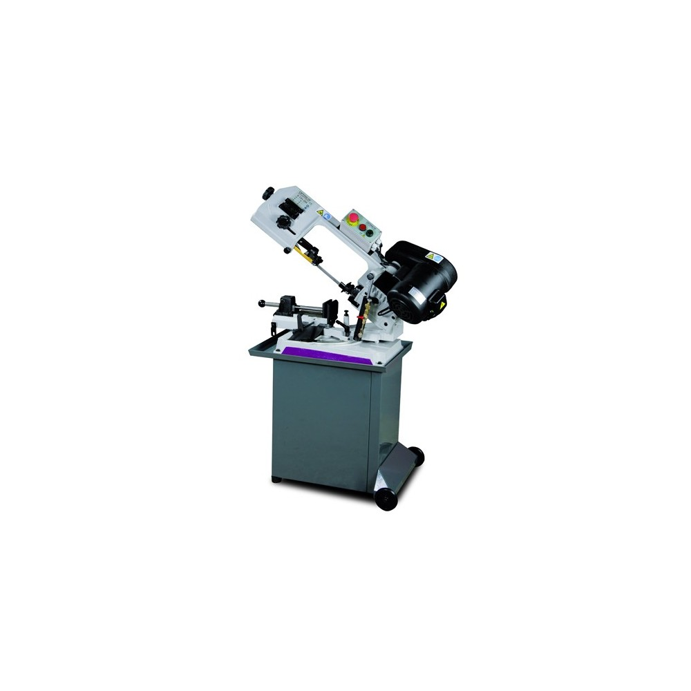 OPT057OP0131 - BAND SAWING MACHINE MODEL S 131GH FOR THE MACHINING OF METALS WITH A HEADBAND SWIVEL 220V Dinamitek 2