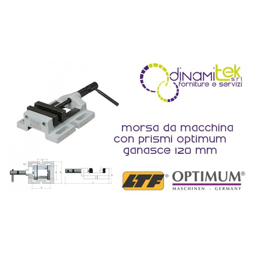 OPT027OP0120 - THE GRIP OF THE MACHINE, WITH THE PRISMS MODEL BMS 120 - JAWS 120 MM Dinamitek 1