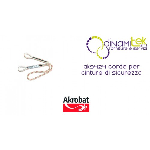CORDS FOR SAFETY BELTS AK9424 AKROBAT Dinamitek 1