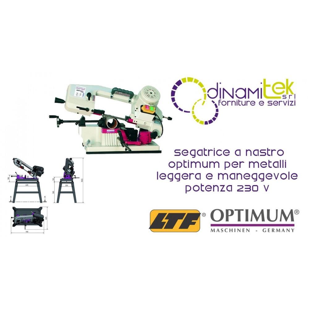OPT057OP0100 - Segatrice A Nastro Modello S 100G Per Metalli - Leggera E Maneggevole - Potenza 230 V Dinamitek 1
