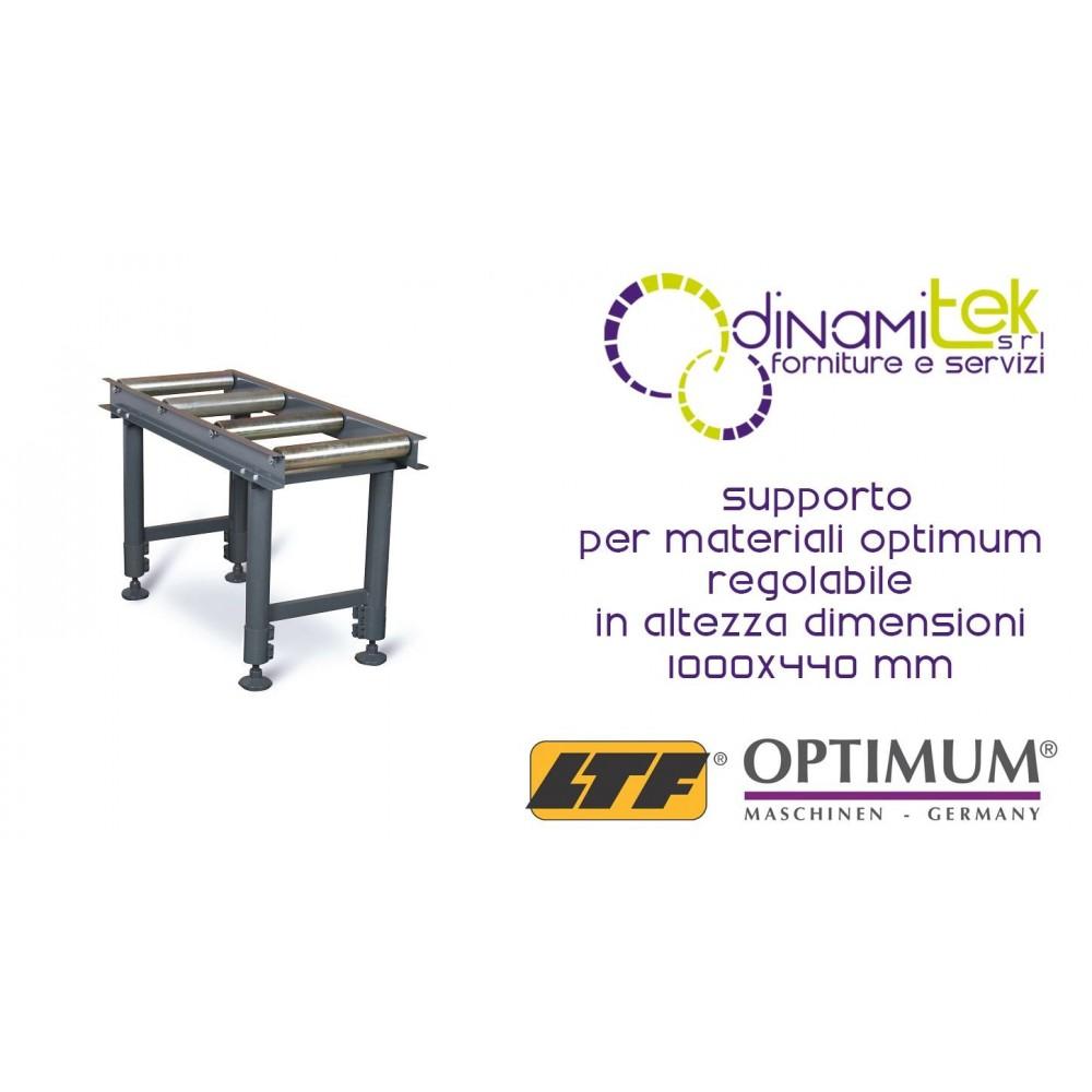 OPT057OP7610 - SUPPORT FOR MATERIALS MODEL MSR 4-ADJUSTABLE HEIGHT - DIMENSIONS 1000X440 MM Dinamitek 1