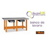 0BANCO FROM WORK IN THE SHEET METAL WITH TWO DRAWERS C56 O BETA Dinamitek 1