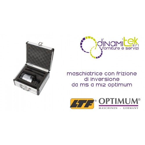 OPT3352042 - Maschiatrice Con Frizione Di Inversione Da M5 a M12 Dinamitek 1