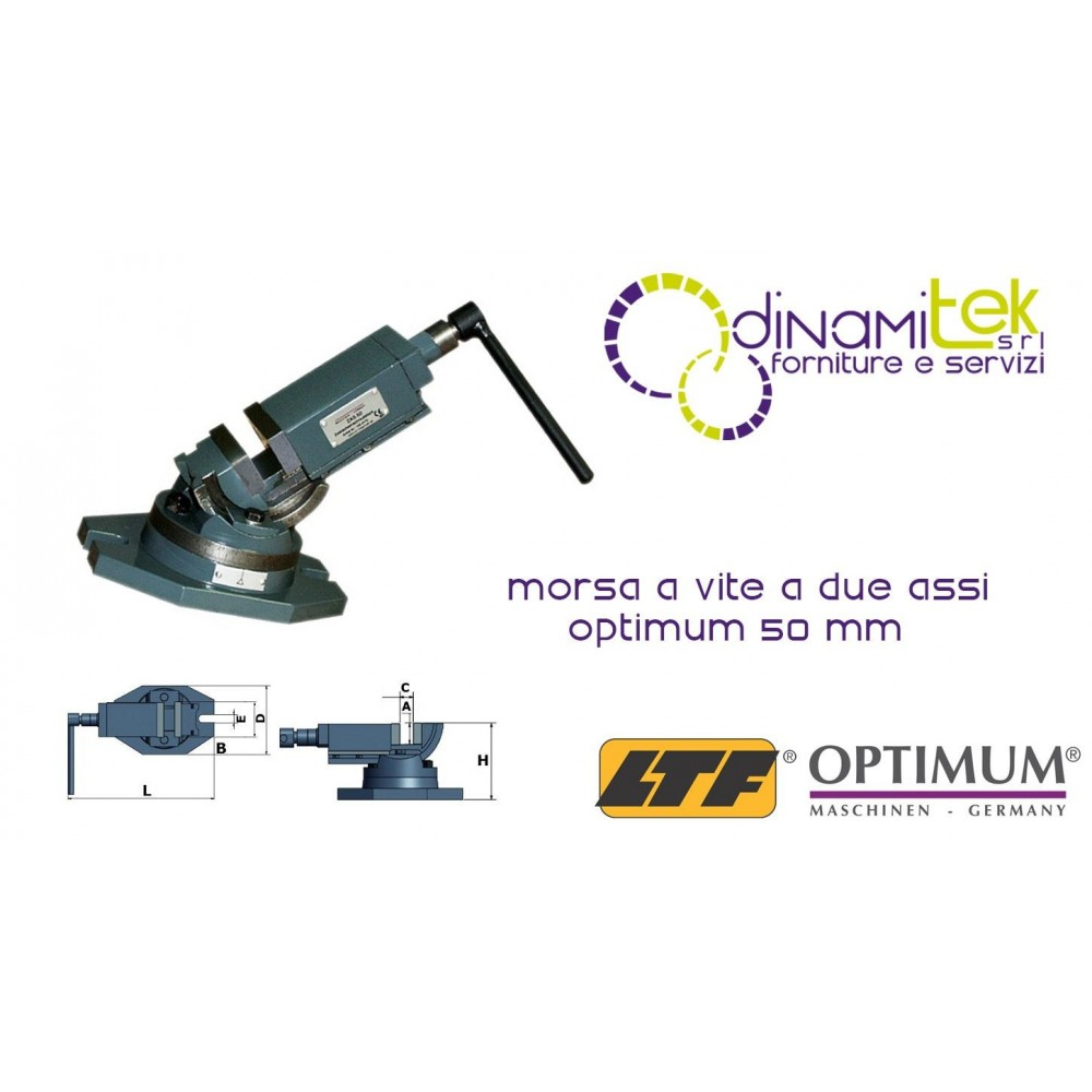 OPT3354170 - CLAMP TWO-AXIS MODEL ZAS 50 50 MM Dinamitek 1